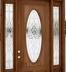 external front doors with stained glass