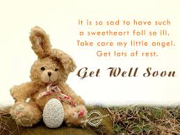 Get Well Soon Wishes For Kids Pictures Images