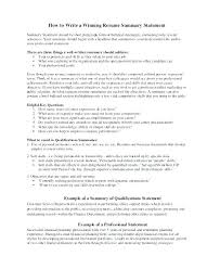 Job Qualifications Resume Englishor Com