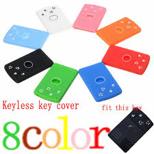 4buttons remote smart card key case fob for renault laguna koleos shell w insert small uncut blade