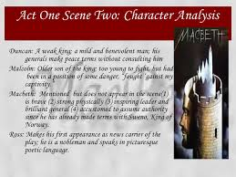macbeth power point 23 act one scene two character analysis