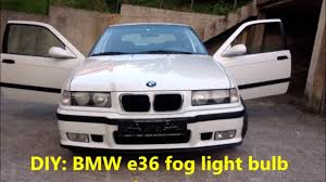 E36 Fog Light Lens Bmw E36 Fog Light Replacement Youtube