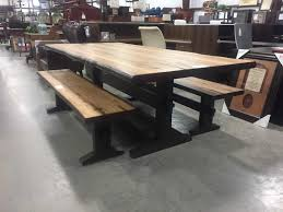 office dining table. Coaster Burnham Live Edge Dining Table Office T