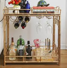 This side table that pairs as a liquor cabinet, from HGTV: