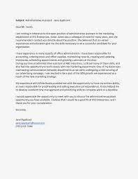 Sample Cover Letter For Administrative Assistant Cover Letter For Administration Magdalene Project Org