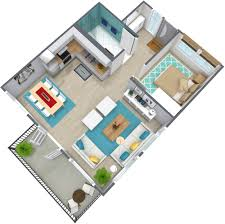 Charming 1 Bedroom Apartment Floor Plan