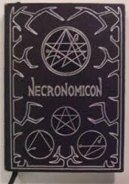 cover of the necronomicon book