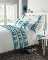 White And Turquoise Bedroom Teal And White Bedding Arlene Designs