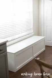 Window seat with storage Projects Diy Storage Bench Making Home Base How To Build Window Seat With Storage Diy Tutorial