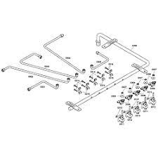 thermador cooktop parts. valves/manifo. thermador cooktop parts