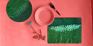 table mats placemats coasters trays and other unique pieces for the home