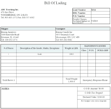 Large Size Of Free Bill Lading Template Beautiful Excel