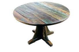 48 round table top wood dining inch rustic home design and patio replacement