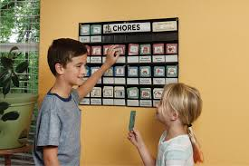 Neatlings Chore Chart System Multiple Child Chore Chart System And Chore Cards Neatlings