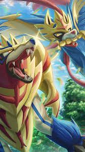 Zamazenta Zacian Pokemon Sword And ...