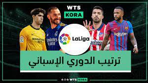 ترتيب الدوري الإسباني 2021-2022 بعد مباريات الأحد 29-08-2021 - واتس كورة
