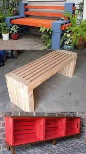 easy diy benches indoor outdoor