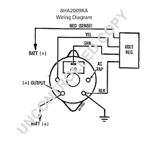 Wiring a alternator diagram 7127 3a at