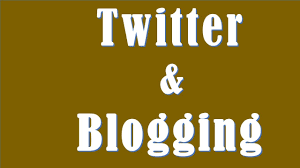 Image result for twitter and blogging