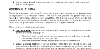 Personal Training Resume Personal Trainer Resume Objective