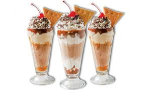 ice cream sundae with sprinkles and toppings. Simple Sprinkles Big Chill And Ice Cream Sundae With Sprinkles Toppings S