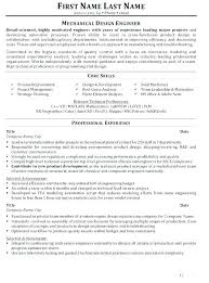 Manufacturing Engineer Resume Sample Mechanical Engineering Entry Level Manufacturing Engineer Resume ...