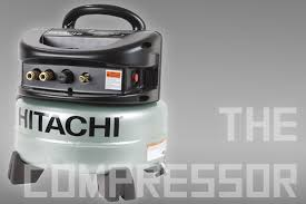 hitachi pancake air compressor. this is a pretty standard pancake compressor, oil-free and capable of delivering 2 cfm @ 90 psi \u2014 essentially what you\u0027ll need for running couple hitachi air compressor