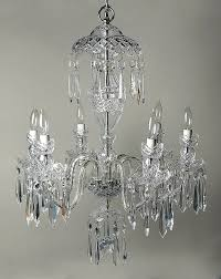 avoca cut 6 arm chandelier by waterford replacements ltd