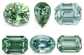 Green Sapphires Ringing In Spring With Green