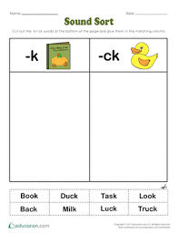 These work work activities for upper elementary students can help students review their spelling words for any word list! Phonics Worksheets Free Printables Page 7 Education Com