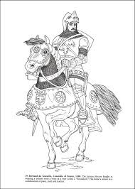 knights and armor coloring book additional photo inside page