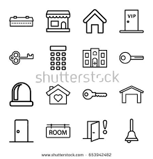 house key outline. Door Icons Set. Set Of 16 Outline Such As Barn, House Building Key O