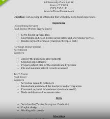 Magnificent Resume Objective Work Study Pictures Inspiration Entry