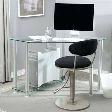 desks for small spaces shallow puter desk home office furniture glass corner
