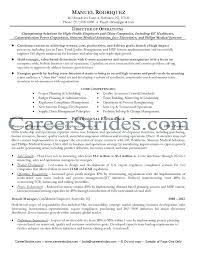 operations manager resume examples director of operations resume sample  resume objective examples for sales operations manager