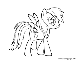Small Picture rainbow dash 1 Coloring pages Printable