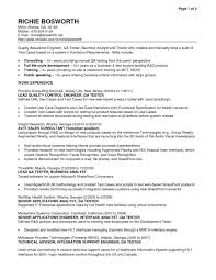 Mobile Testing Resume Manual Sample For 1 Year Experience Appium