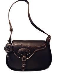 argentine leather saddle styled handbag purse ex lc01 244 40 bk pieces of argentina