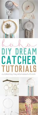Dream Catcher Patterns Step By Step DIY Dreamcatcher Tutorials Hey Let's Make Stuff 38