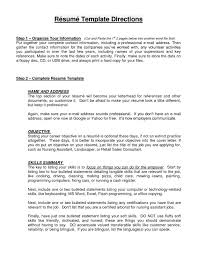 Professional Resume Letterhead Good Objective Statements For Awesome