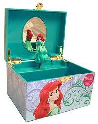 amazon disney princess ariel little mermaid jewelry box toys games