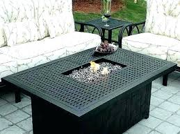 propane glass fire pit propane glass fire pit kmooreco propane fire pit table glass rocks