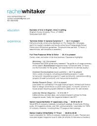 Web Content Editor Sample Cover Letter Cover Letter
