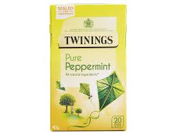 pure peppermint 20 single tea bags