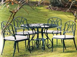 Charming Cast Iron Patio Furniture Antique Spokan Kitchen and