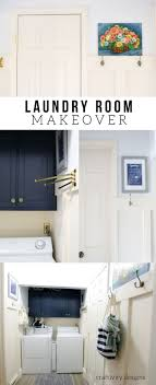 Small Laundry Renovations Small Laundry Room And Mudroom Reveal Craftivity Designs