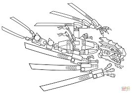 Small Picture Lego Ninjago Dragon coloring page Free Printable Coloring Pages