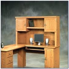 sauder orchard hills computer desk with hutch ina oak decorations 12