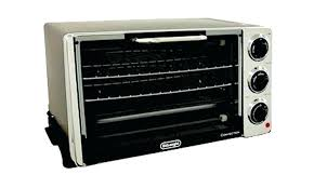 deluxe white convection toaster oven broiler conventional countertop