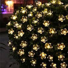 amazing garden lighting flower. Solar Powered 50 LED Flower Garden Lights Amazing Garden Lighting Flower #